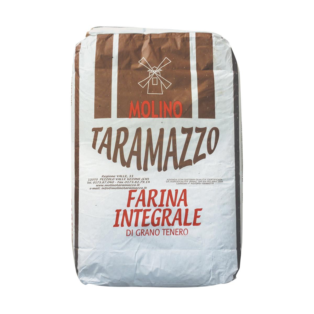 Farina integrale da 25 Kg.