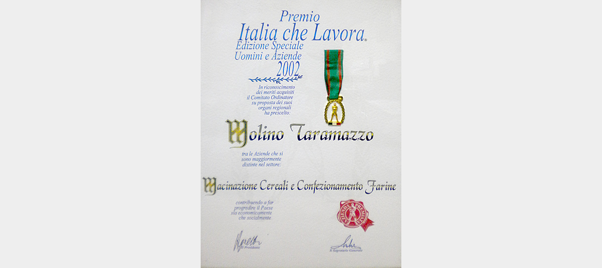 Premio Italia che Lavora.